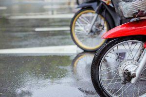 moto à chuva
