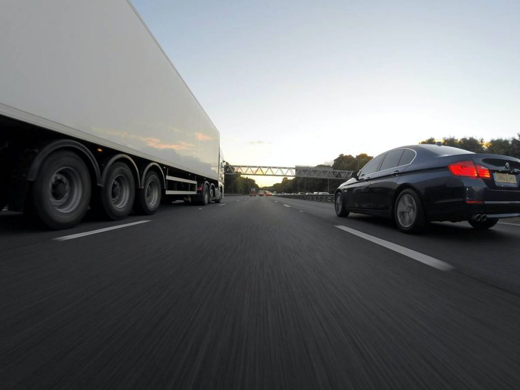 accidente con camion