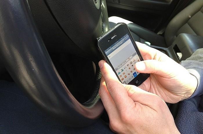 SMS's enquanto conduzimos