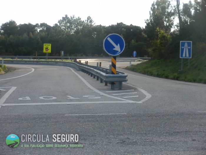 Auto-estrada, uma entrada ou uma saída?