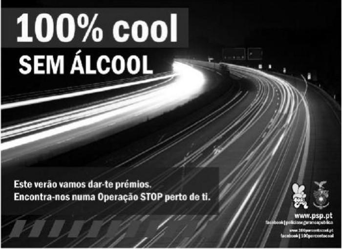 100% Cool – diz não ao álcool na condução