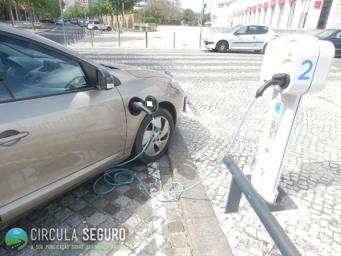 Veículos eléctricos amigos do ambiente