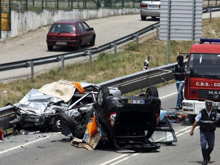 Meio ano de sinistralidade rodoviária em Portugal