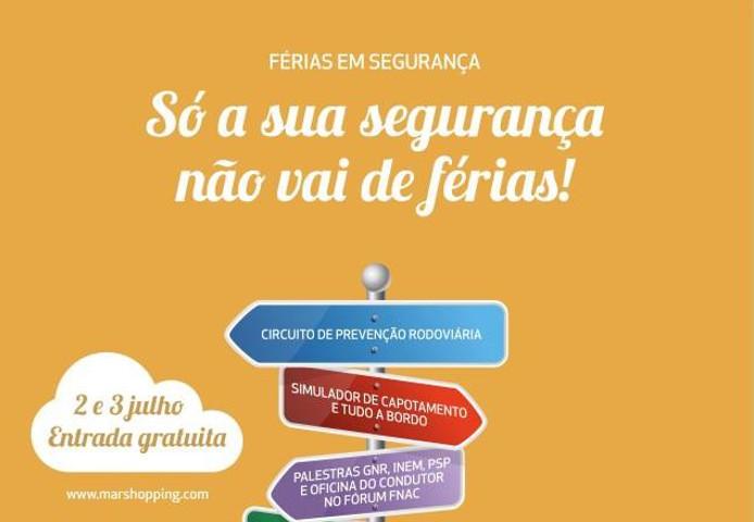 Férias em segurança nas estradas portuguesas