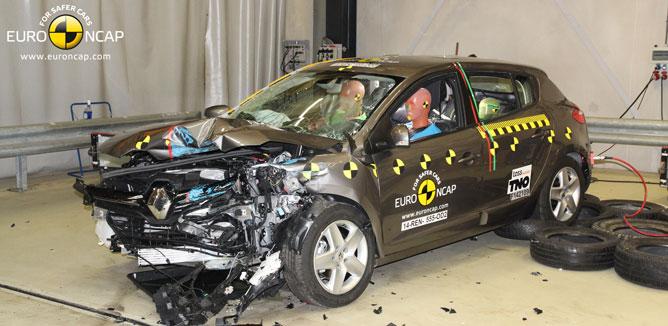 Novos testes da Euro NCAP cada vez mais exigentes