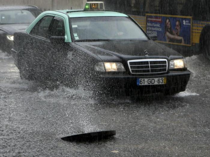 Fortes chuvas, grandes problemas