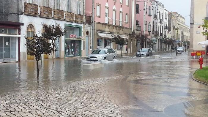 Fortes chuvadas, grandes problemas