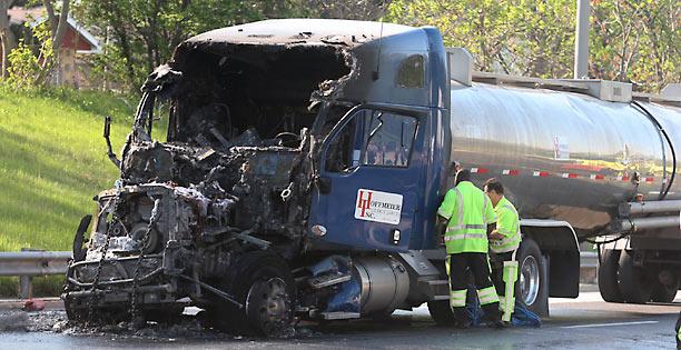 A vida de riscos que os motoristas de transporte rodoviário estão sujeitos