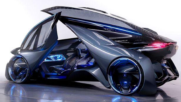 Chevrolet apresenta carro super futurista