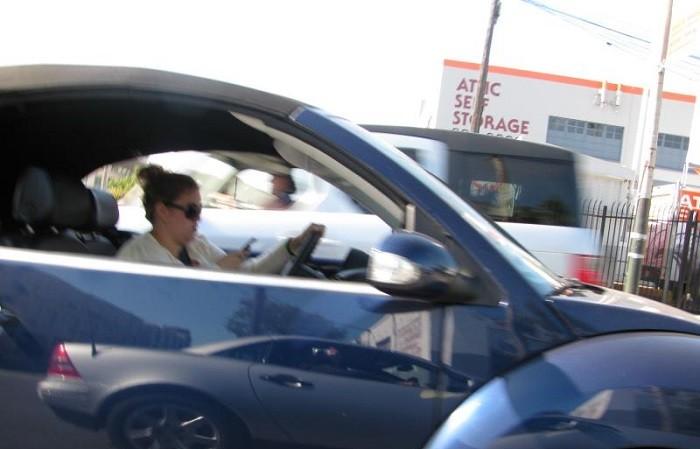 Tecnologia e crianças distraem condutores experientes