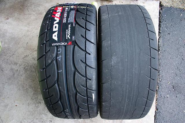 Os perigos de um pneu careca