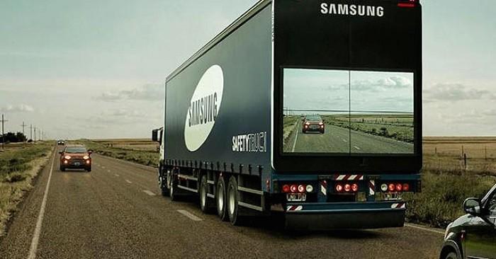 """Nova tecnologia propõe ver """"através"""" de camiões"""