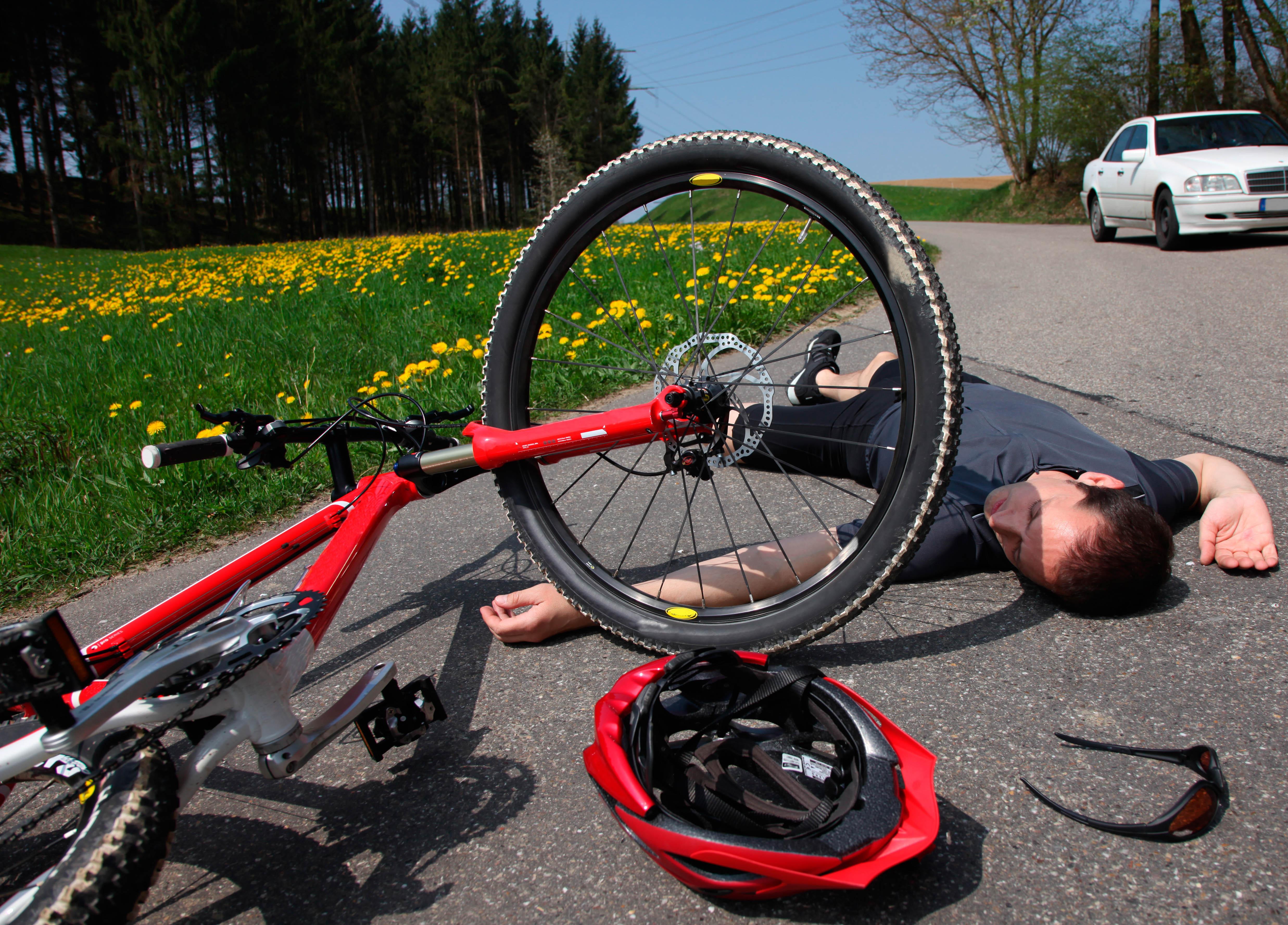 Acidentes com ciclistas tem aumento preocupante