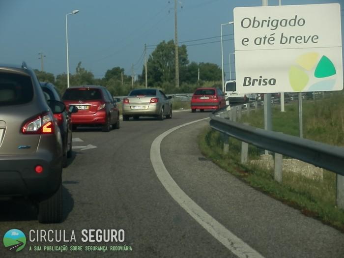 O país rodoviário já iniciou a inclinação habitual rumo ao Algarve