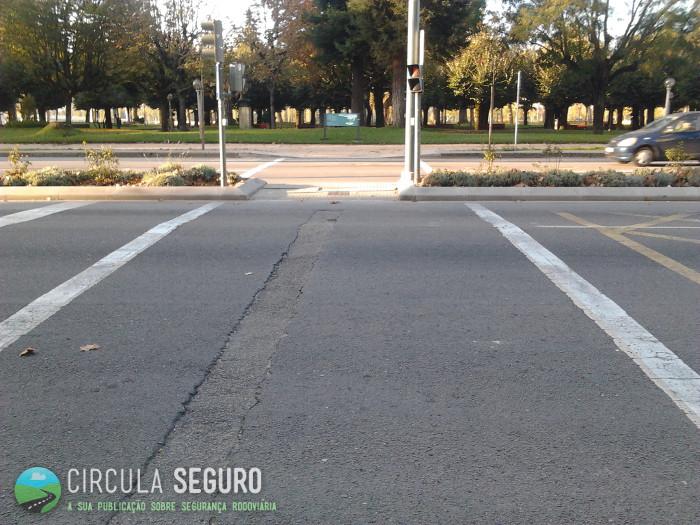 Passagens para peões, seguras, na cidade de Coimbra