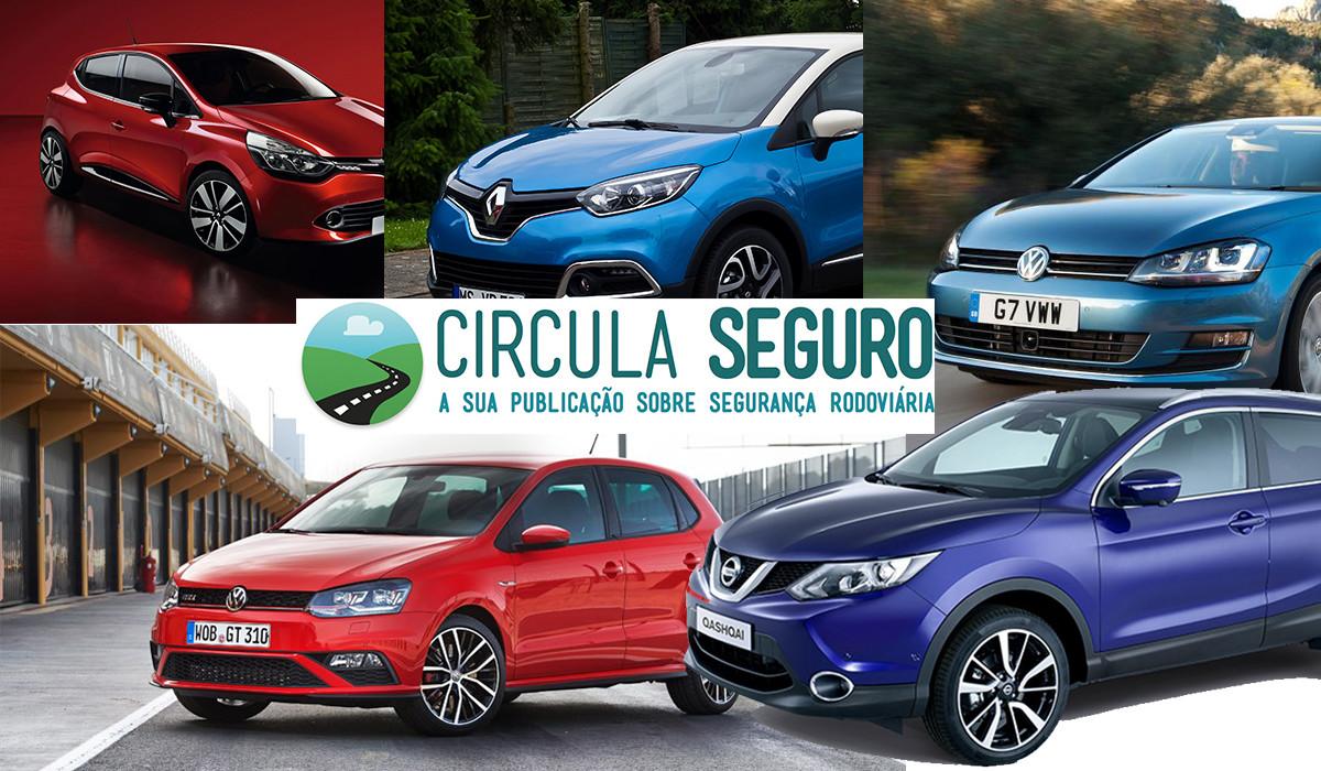 E os 10 carros mais vendidos em Portugal em 2015 são…