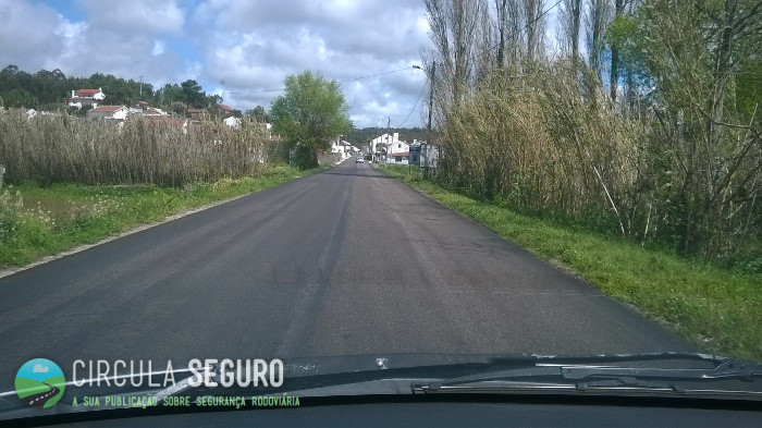 Que perigos ocorrem após as estradas nacionais serem repavimentadas?