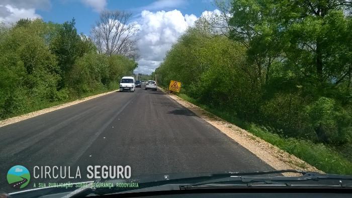 Que perigos ocorrem quando uma estrada nacional é repavimentada?