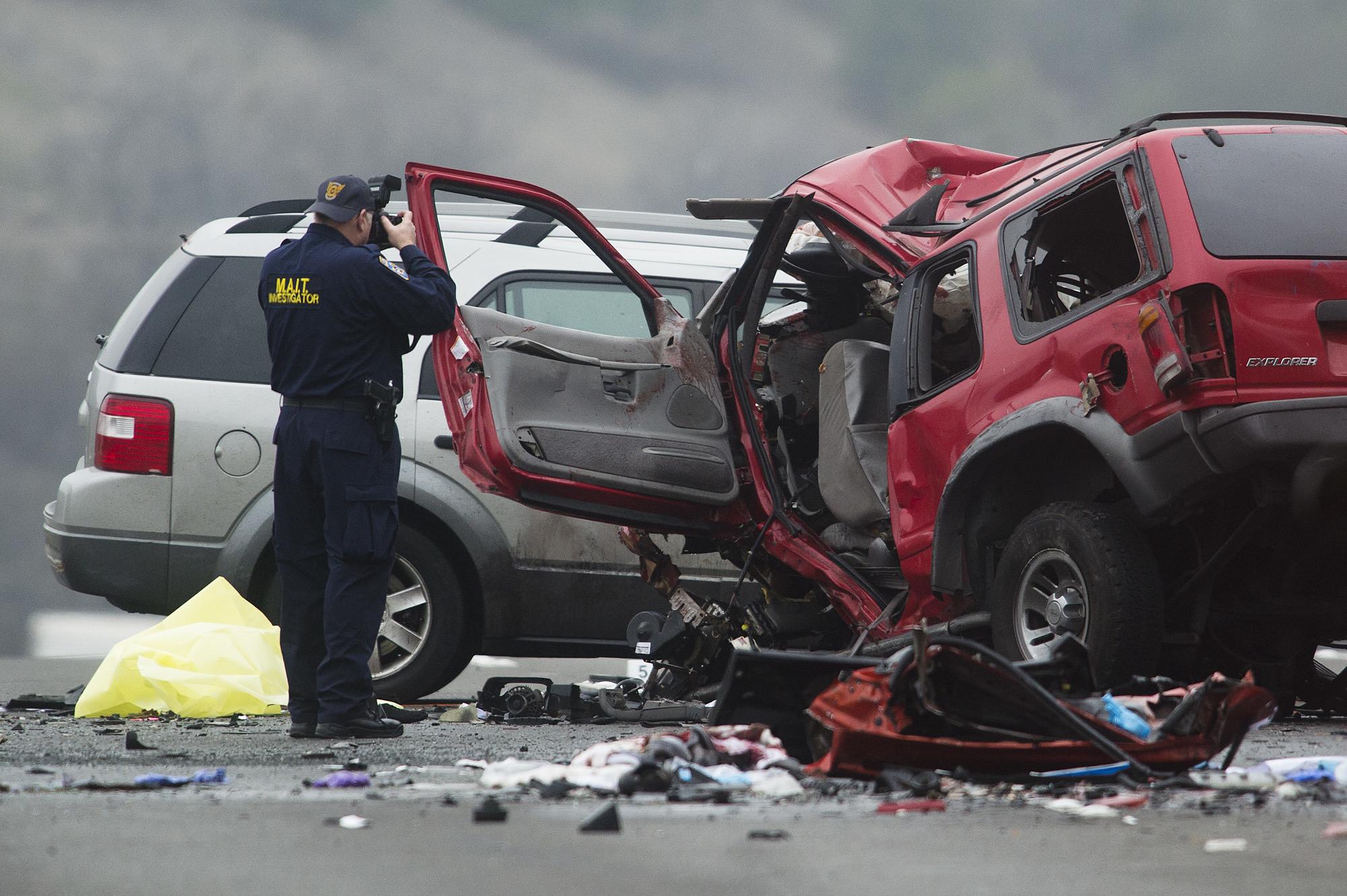 Carros com mais de 11 anos envolvidos em 40% dos acidentes