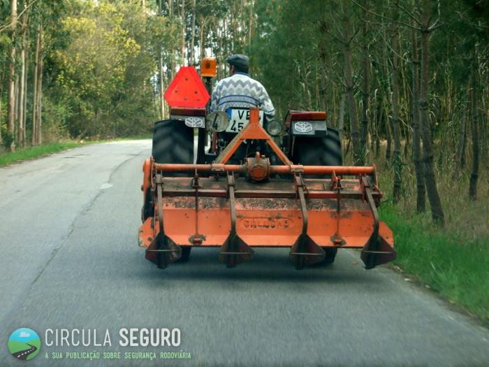 Os tratores e a segurança rodoviária nos meios rurais