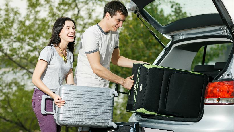 As férias estão aí. Sabe arrumar as malas no carro?