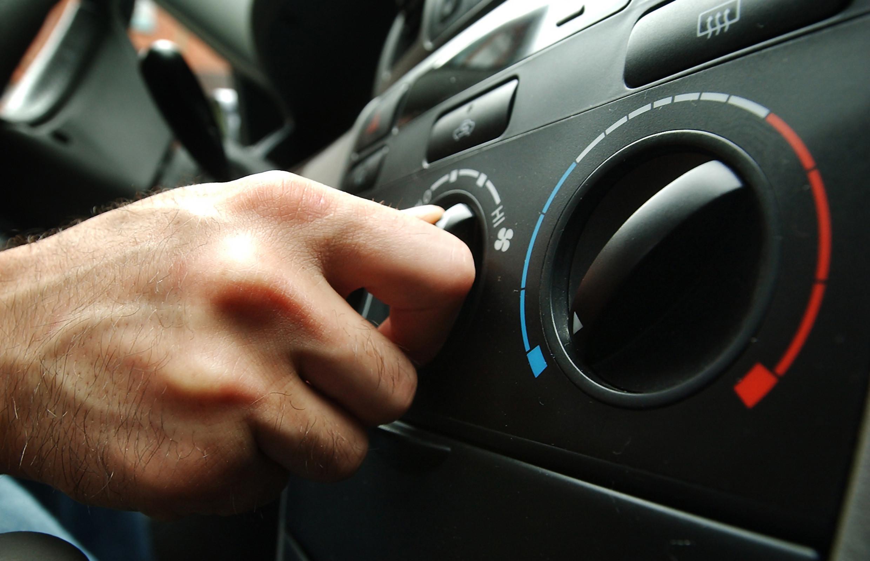 Ar condicionado bem mantido, condução segura