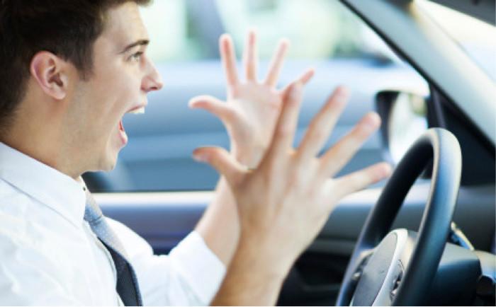 Desrespeito dos condutores perante um veículo de instrução automóvel