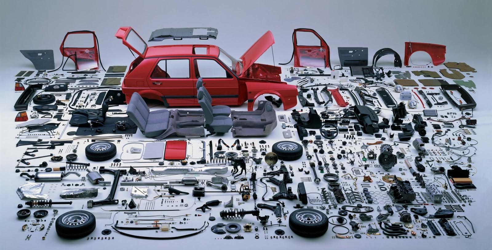 Quanto quilómetros faz cada componente do seu carro