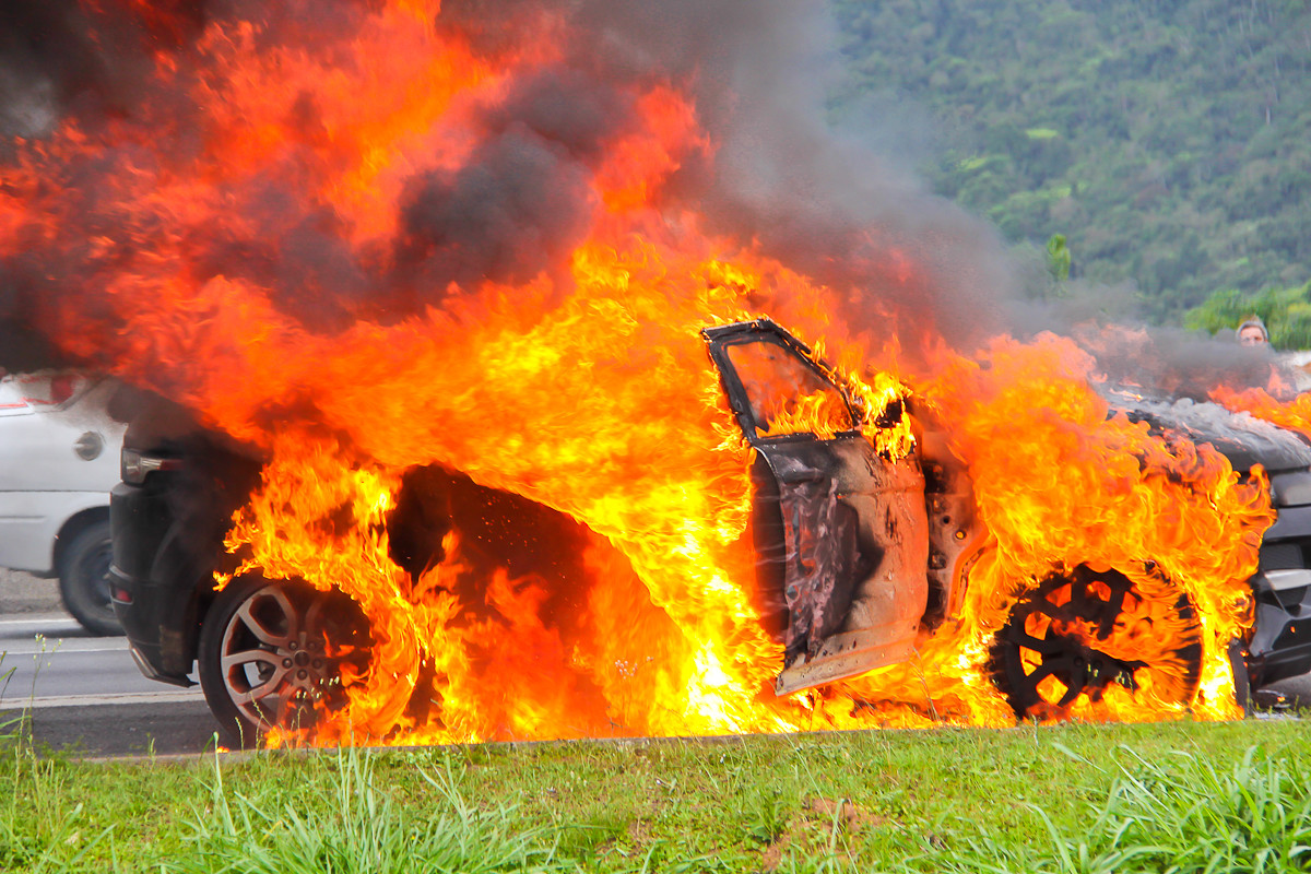 Porque pode o seu carro arder?