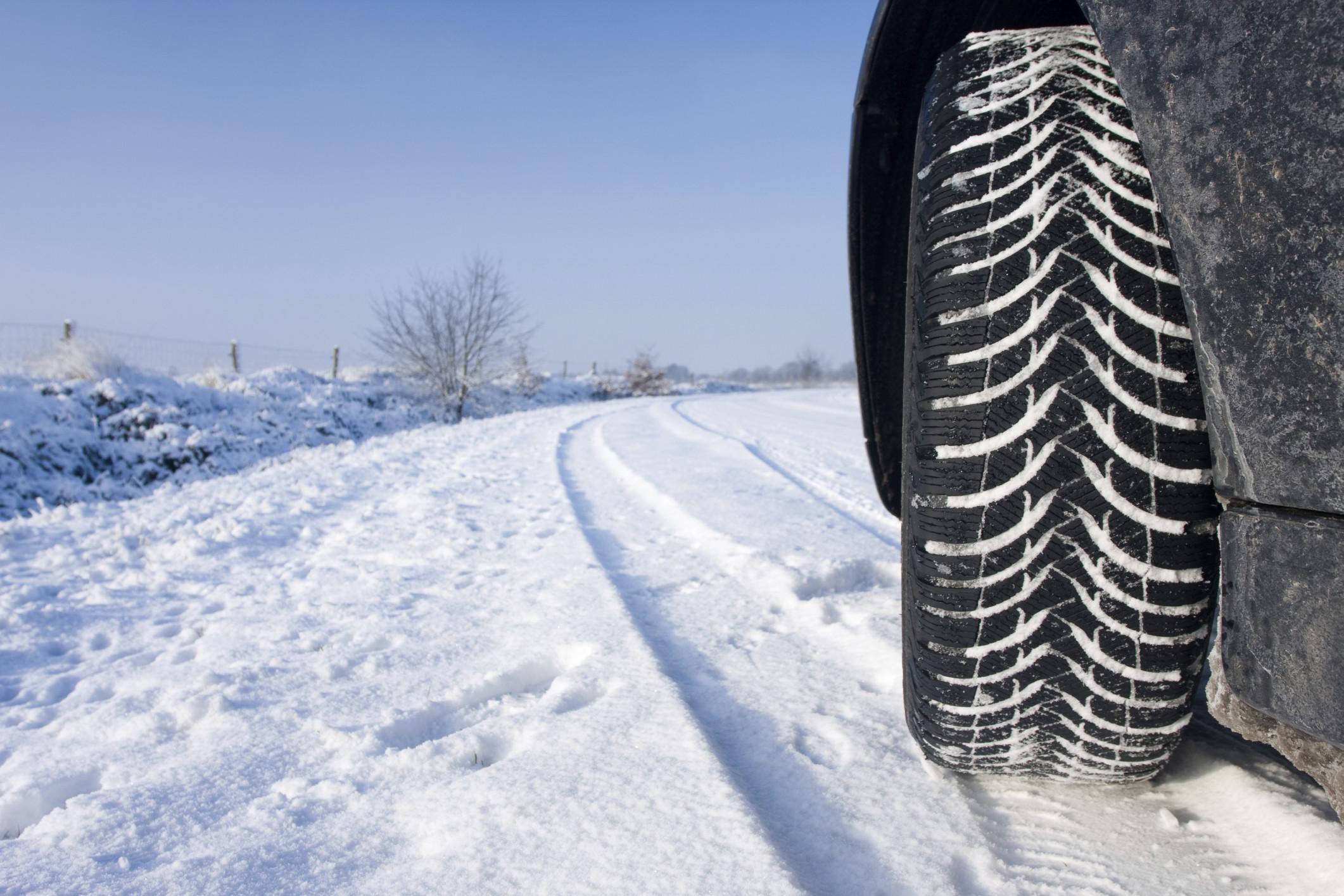 Conduzir com correntes de neve