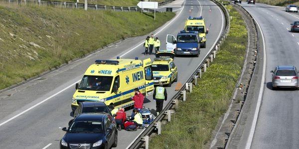 Num acidente de viação como utilizar o Número de Emergência – 112