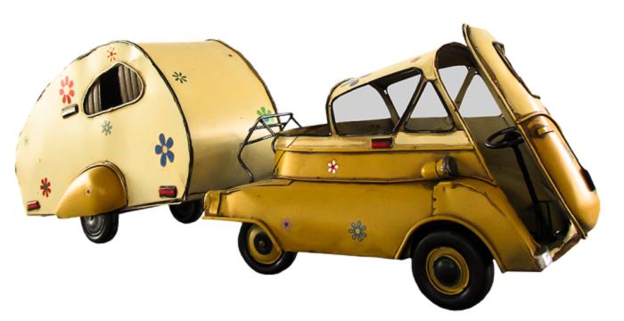 Conselhos para conduzir uma caravana em segurança
