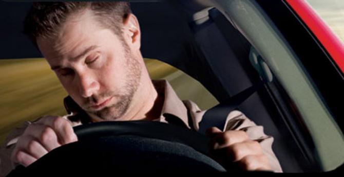 O sono, a fadiga e a condução