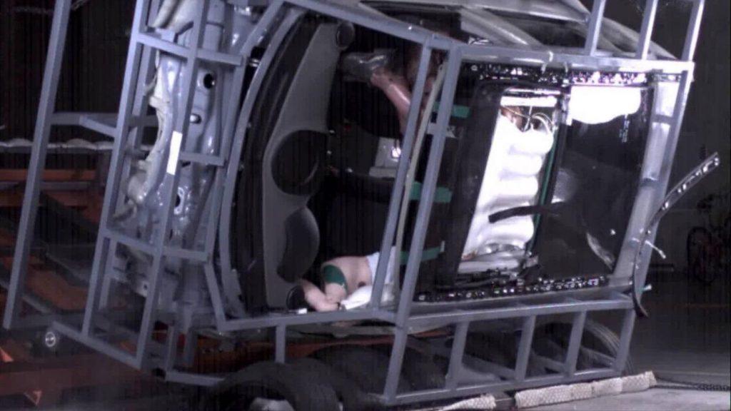 airbag teto panorâmico