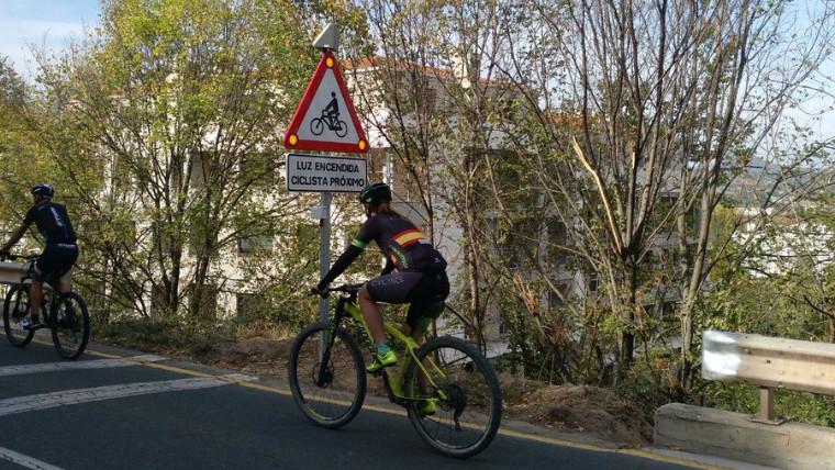 Sinalização dinâmica de ciclistas, acidentes com bicicletas