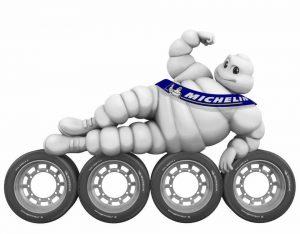 Troca de pneus - Michelin