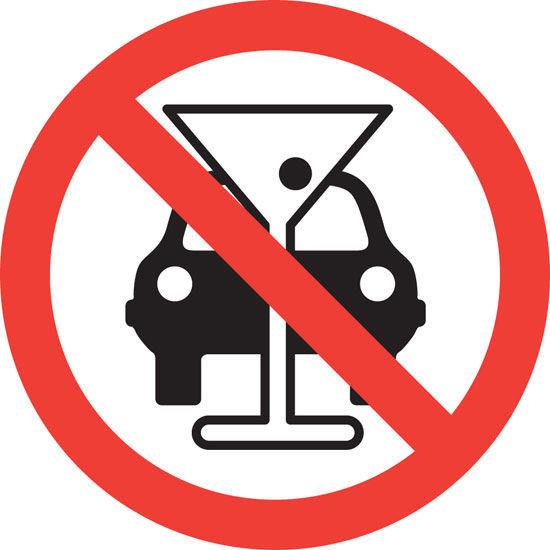Álcool, regulamentações, sanções