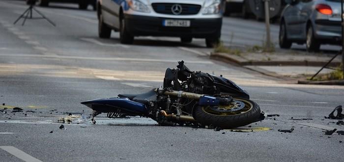 As causas mais comuns dos acidentes de moto