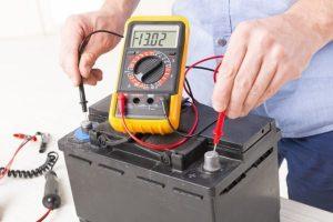 Multímetro bateria