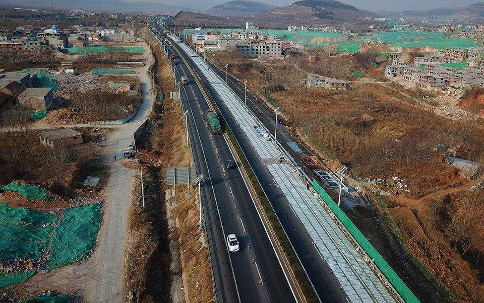 A estrada chinesa do futuro