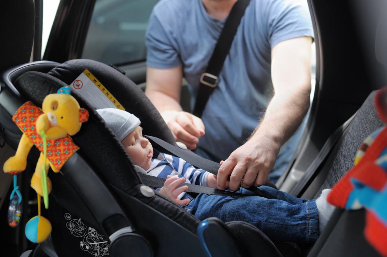 Cadeira de bebé: Quanto tempo pode o bebé permanecer lá?