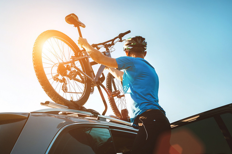 Bicicleta: como transportá-la no carro de forma correcta