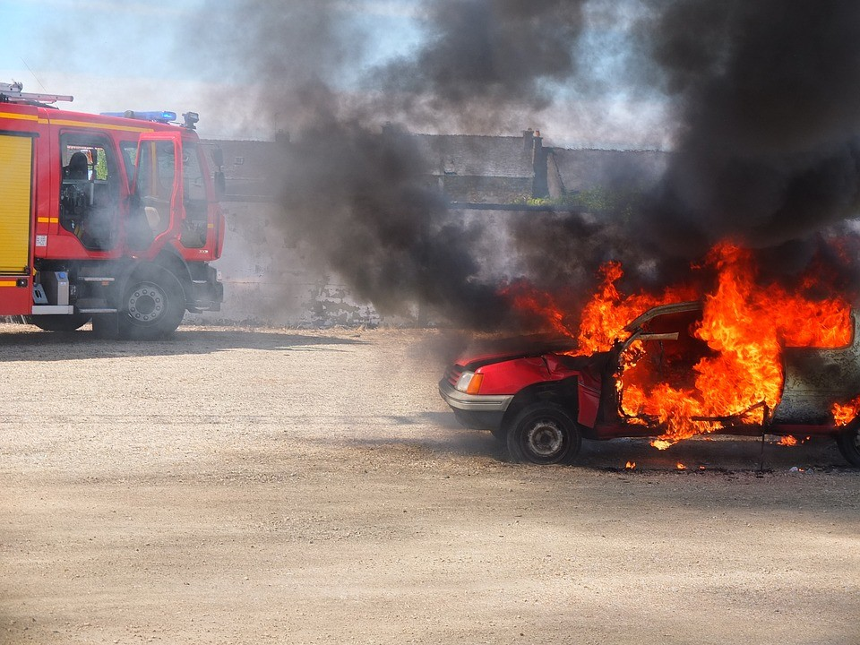 Porque pode arder o seu carro?