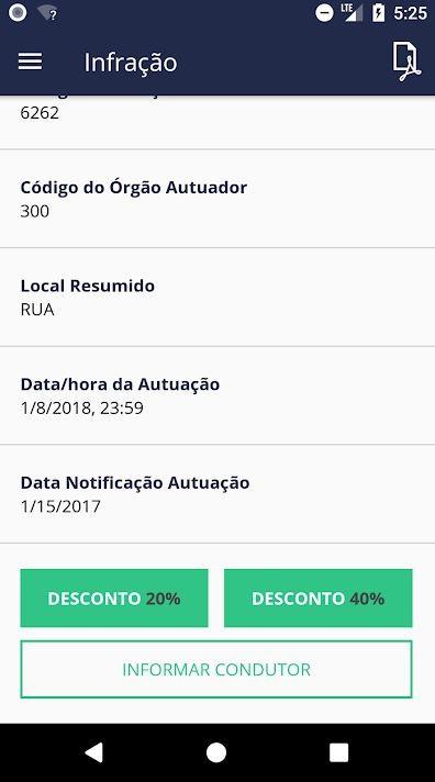 Brasil tem app que dá desconto no pagamento de multas