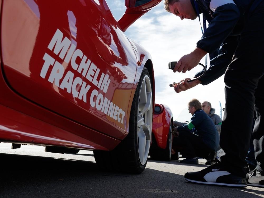 Estes são os primeiros pneus conetados da Michelin