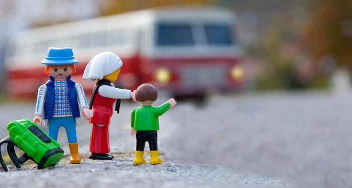 Começam as aulas e as viagens de autocarro