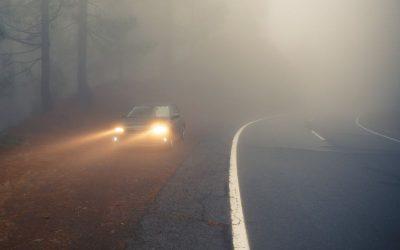 Homiclofobia ao volante: o pânico de conduzir no nevoeiro