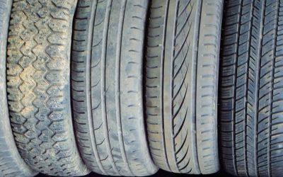 Aproveitar pneus velhos para os transformar em matéria-prima