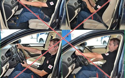 Dicas para conduzir com segurança: Ergonomia e posição ao volante