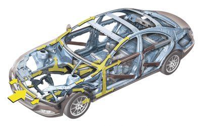 Zonas de deformação programada de um veículo – o que são?